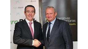 Foto de CaixaBank y Cooperativas Agro-alimentarias de España firman un convenio para facilitar el acceso de financiación a las cooperativas