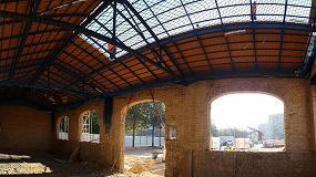 Foto de Onduline participa en el Proyecto Parque Central de Valencia con su Sistema Integral de Cubierta