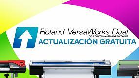 Foto de Roland DG ofrece a sus clientes la actualización gratuita del software RIP VersaWorks Dual