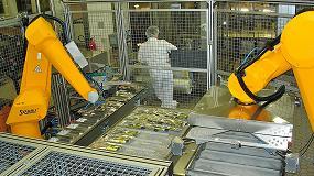 Foto de Llenado y envasado de bolsas de la industria farmacéutica