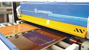 Foto de Barberán amplía su gama de maquinaria para la producción de superficies con acabado High Gloss