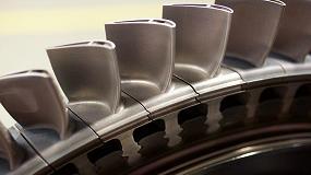 Foto de Gran avance de Siemens con la impresión de álabes de turbina de gas en 3D