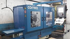 Picture of NC Service reconstruye una fresadora Correa A10 con un Heidenhain de última generación