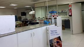 Foto de Labygema recicla los tapones de plástico de su laboratorio para una causa solidaria