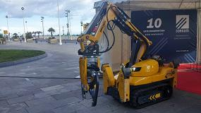 Foto de Corsam Innova presenta su nuevo robot Brokk 110