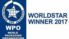 Foto de Sealed Air, galardonado con el premio internacional WorldStar en la categoría de Alimentación