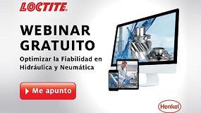 Foto de Loctite invita a su nuevo webinar sobre Soluciones en Fabricación de Sistemas Neumáticos e Hidráulicos