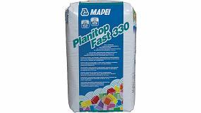 Picture of Mapei potencia la presencia de Planitop Fast 330 en el mercado