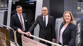Foto de Heidelberg lanza el sistema de impresión digital Primefire 106