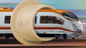 Foto de Nuevo material plástico de Igus contra incendios en el sector transporte