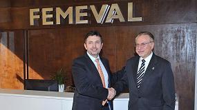Foto de Alianza de Femeval y el COIICV para impulsar la Industria 4.0
