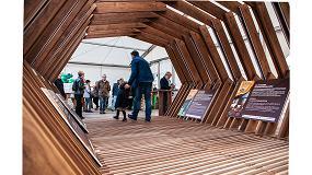 Foto de El stand de la campaña Gure Zura logra el 'Emporia de oro', Premio Nacional de Arquitectura Efímera