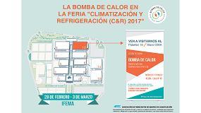 Foto de La Bomba de Calor estará presente en la feria Climatización y Refrigeración 2017