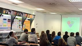 Foto de Alumnos del IES de A Guía (Vigo) visitan las instalaciones de Xylazel