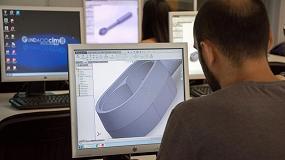 Picture of Cursos de formación especializada en sistemas CAD en la Fundació CIM