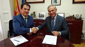 Foto de Veterindustria y Anembe firman un acuerdo marco de colaboración