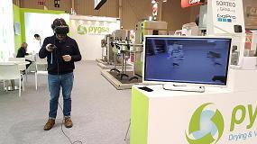 Foto de La realidad virtual para la visualización de maquinaria industrial despierta la atención de Enomaq