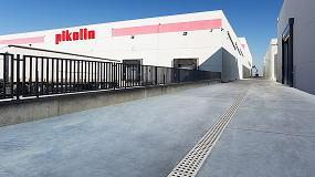Picture of Pikolin confía en el drenaje Ulma para su nueva fábrica en Zaragoza
