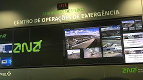 Fotografia de La ANA escogió el sistema Sony Vision Presenter para el nuevo Centro de Operaciones de Emergencia (COE) del Aeropuerto de Lisboa