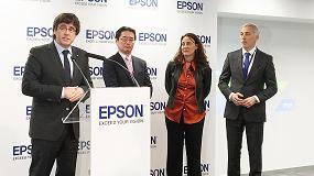 Foto de Epson Ibérica inaugura su nueva sede en Sant Cugat del Vallès