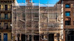Fotografia de Empieza el curso de Rehabilitación de fachadas y cubiertas organizado por la Escola Sert