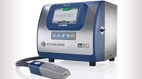 Foto de Impresoras de inyección de tinta continua, codificación y marcado en el stand de Domino de Interpack 2017