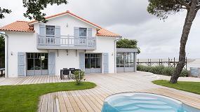 Fotografia de Extens'K amplía el espacio de una vivienda localizada en la región francesa de Charente-Maritime