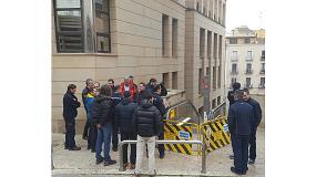 Foto de Kone colabora con el parque de bomberos de Lleida para mejorar la seguridad