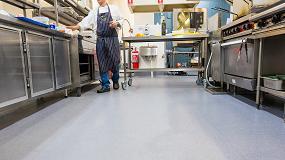 Foto de El hotel Castlereagh Boutique elige la solución Altro para cocinas industriales