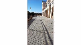 Foto de Lotum renueva el pavimento exterior del Colegio Salesiano San Antonio de Padua