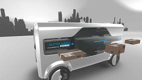Foto de Ford planea contar con un vehículo completamente autónomo para reparto de paquetes en 2021