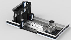 Picture of Soraluce presenta la nueva fresadora multifunción PXG-W para grandes componentes