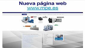 Foto de MPE lanza su nueva página web