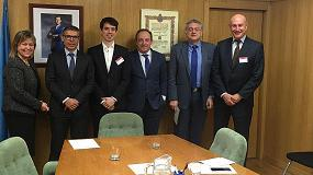 Foto de Asebio se reúne con representantes del Ministerio de Sanidad para fortalecer su colaboración
