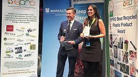 Foto de Dos empresas españolas ganadoras en sendas categorías (producto y diseño) del Premio europeo 2017 al mejor Producto con Plástico Reciclado