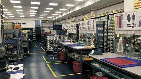 Foto de Centro de servicio de Espaseme para el regenerado de cierres mecánicos