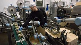 Foto de Reducir los tiempos de inactividad en líneas de envasado de alimentos con la robótica colaborativa