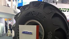 Foto de Mitas presentó a nivel mundial el nuevo neumático 1000/50 R 25 SFT
