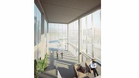 Foto de El nuevo exlabesa Architectural Lab instala un muro cortina singular ECW-50