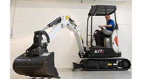 Foto de Bobcat lanza la nueva excavadora E17Z con giro de voladizo cero