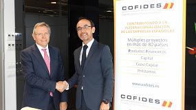 Foto de Feique y Cofides suscriben un acuerdo de colaboración para impulsar la internacionalización de las empresas químicas españolas