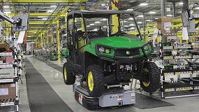 Foto de John Deere amplía su fábrica en EE UU para satisfacer la demanda de los vehículos utilitarios Gator