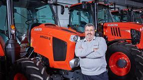 Foto de Germán Martínez, presidente de Kubota España y vicepresidente ejecutivo de Kubota Turkey Makine Ticaret
