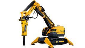 Foto de Brokk presenta el nuevo robot de demolición Brokk 500