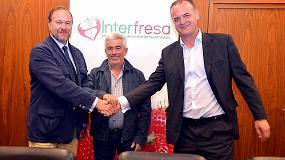 Foto de Interfresa y la Fedemco acuerdan luchar contra el intrusismo en prácticas comerciales que perjudican a ambos sectores