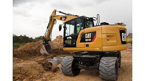 Foto de Barloworld Finanzauto presenta la nueva Serie F de excavadoras de ruedas Cat