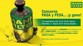Foto de MANN-FILTER reta nuevamente a los talleres en Motortec con el concurso 'Pasa y Pesa'