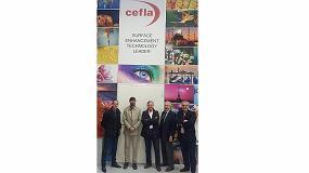 Foto de Cefla tendrá como distribuidores en España a Suvisur y Sitec
