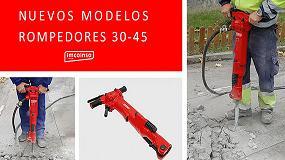 Foto de Imcoinsa lanza dos nuevos modelos de martillos rompedores neumáticos