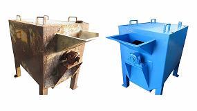 Foto de Rehabilitación de máquinas de segunda mano para reciclaje